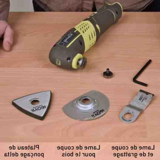 Comment fonctionne une scie oscillante ?